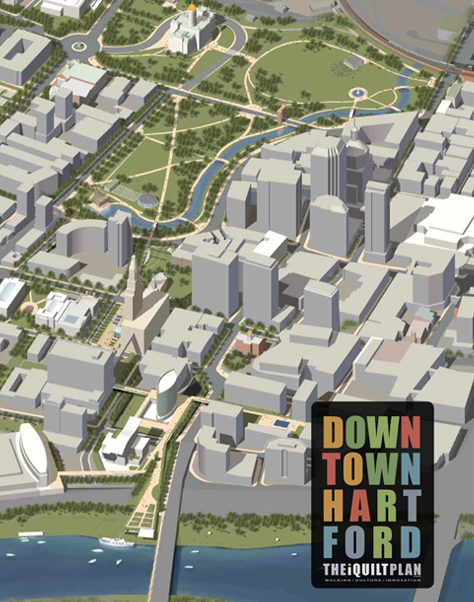 The iQuilt Plan weaves together Hartford's cultural sites from the river to the capitol