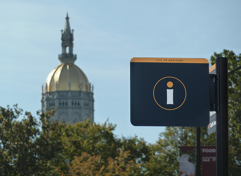 A wayfinding system for downtown Hartford