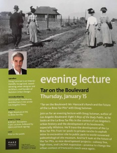 Lecture Event Poster