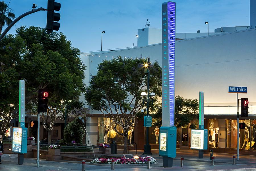 Downtown Santa Monica street infrastructure improvements